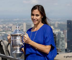 Ex-winnares van de US Open verwacht kindje met proftennisser