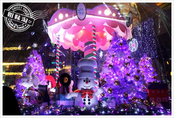 2016夢時代愛Sharing聖誕節繞漫巴黎3