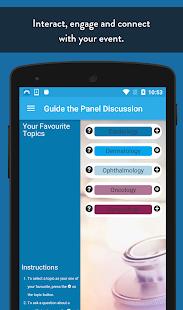 SpotMe Healthcare Event App - náhled