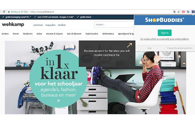 Shopbuddies_com_au Alertbar