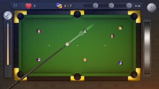 8 Ball Hero - relaxing billiards game painmod.com screenshots 2
