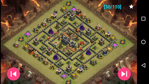 Maps of Clash Of Clans 1.30 screenshots 5