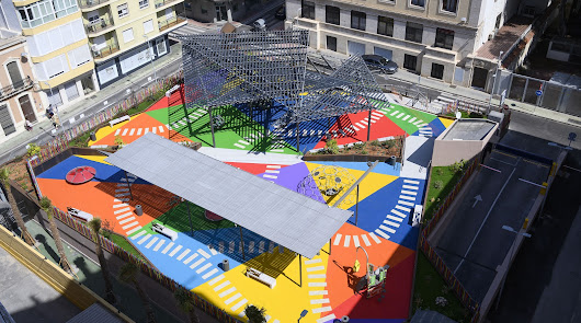 Así verán los niños la 'nueva' Plaza López Falcón cuando puedan disfrutarla
