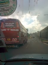 Photo: On the road to Kenyatta University for the 6th International Conference on Appropriate Technology