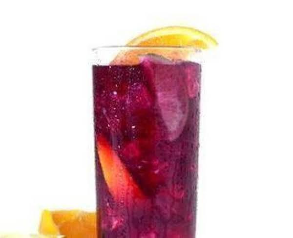 Fizzy Cran-grape Lemonade Punch