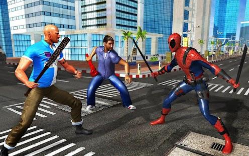 Spider Pool Hero: Blend of 2 Mutant Superheroes - náhled