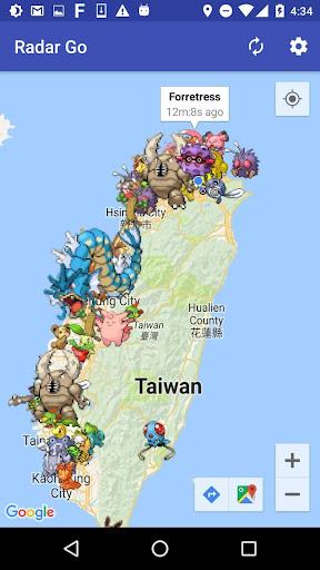 Radar Go (Find Pokemon & Raid GYM Map) screenshot 2