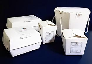 Photo: Mais amostras de embalagens para Delivery de Fast Food.