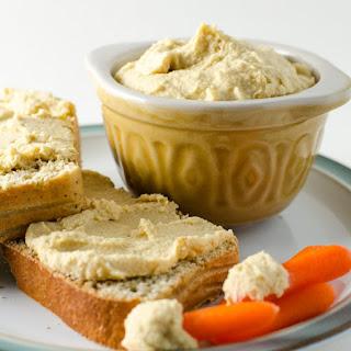 Vegan Parmesan Hummus.