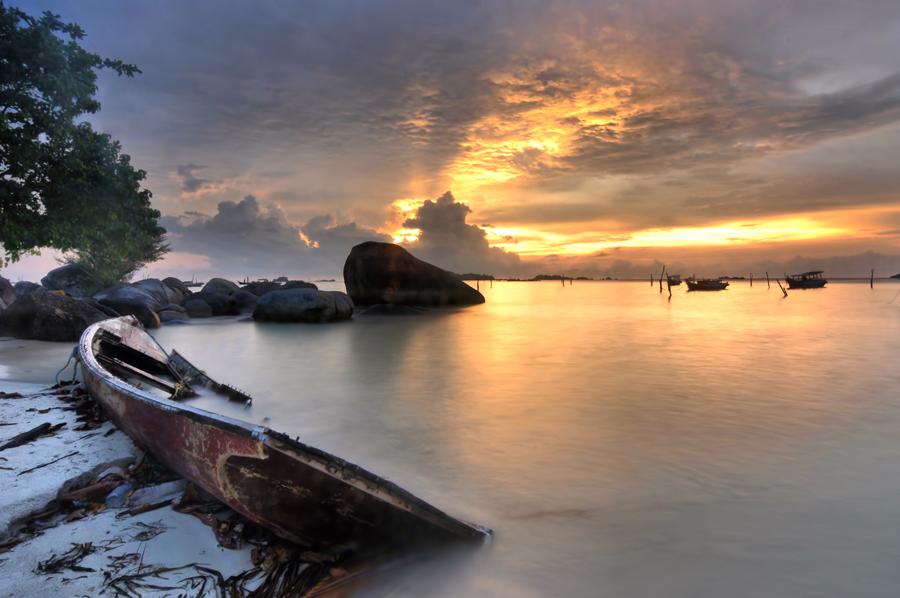 Abandoned Boat by Arief Wardhana - Transportation Boats