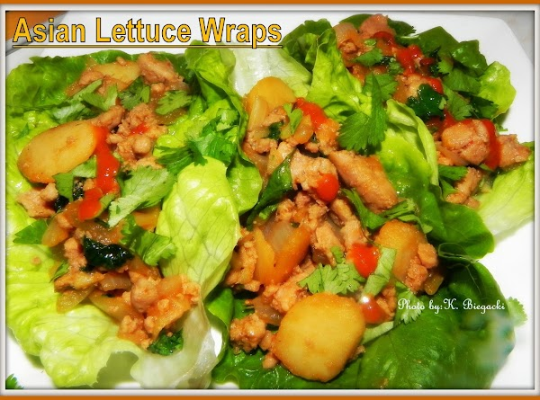 Fill up your lettuce leaves, enough that you can create a wrap....now enjoy these...
