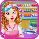 Supermarket Game For Girls Icon