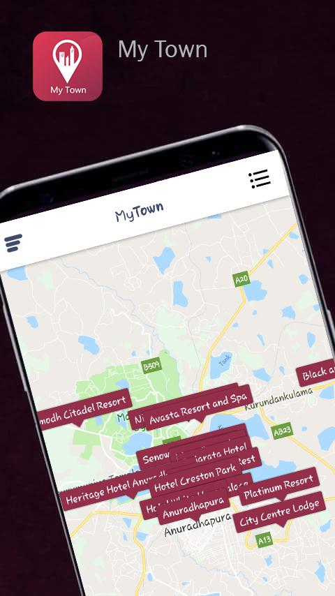 Скриншот My Town - Smart Global Guide