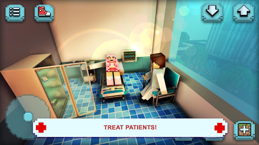 Hospital Craft: Doctor Games Simulator & Building 1.22-minApi19 Mod screenshots 2