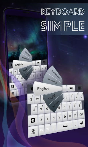 Simple Keyboard White