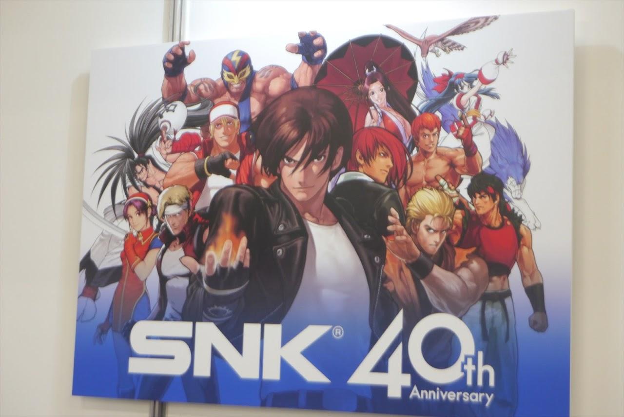 ครบรอบ 40 ปี SNK เผยข้อมูลใหม่ SNK Heroines และ KOF XIV!