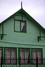 Photo: Dan admired this colorful home in Puerto Natales