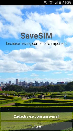 SaveSIM - 電話帳