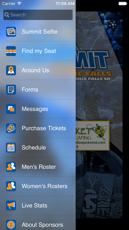Summit League at the Falls- screenshot