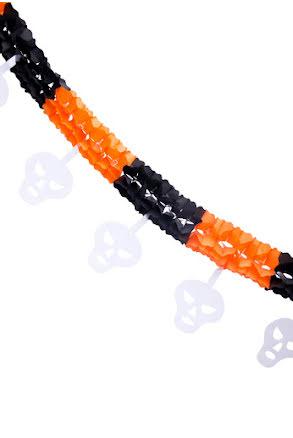 Girlang Svart/Orange 2,5m