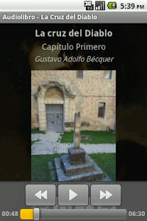 Audiolibro. La Cruz del Diablo - screenshot thumbnail