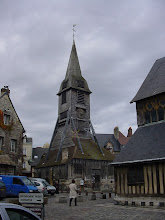Photo: The Clocher (bell tower) de Sainte-Catherine is unusual in that it stands completely separate from the main church.