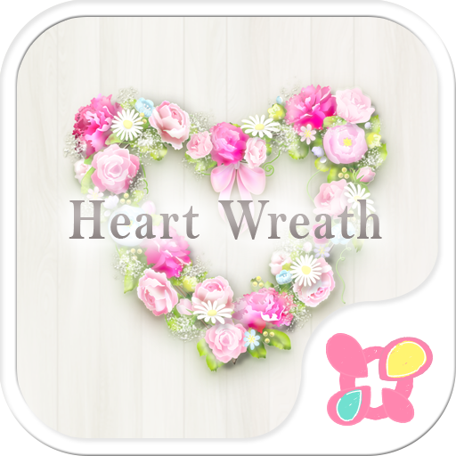 Flower Theme-Heart Wreath- Icon