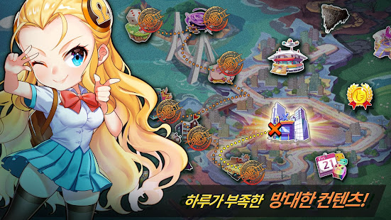 Mod Game 갓 오브 하이스쿨 with NAVER WEBTOON for Android
