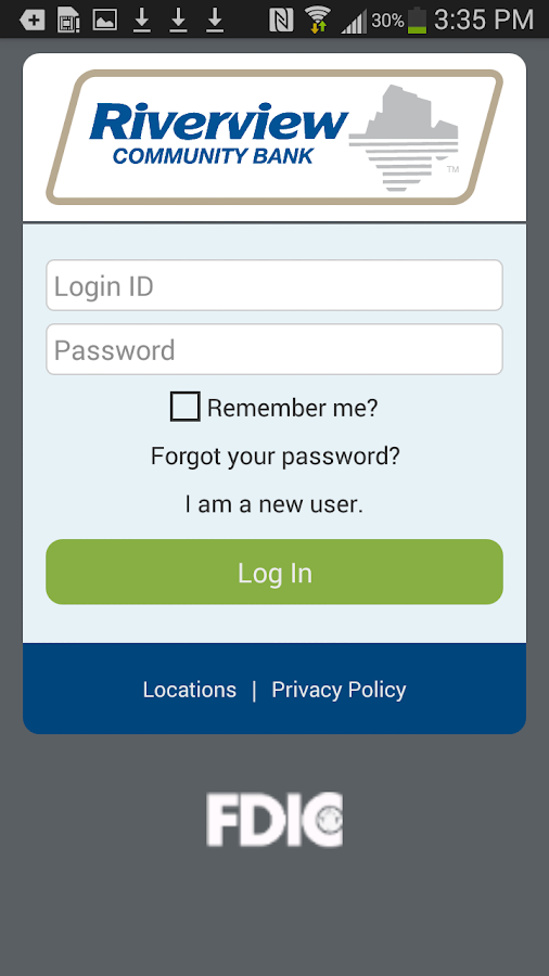 Riverview Mobile Banking- screenshot
