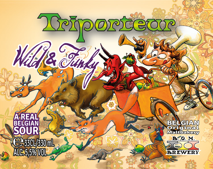 Logo of B.O.M. Triporteur Wild And Funky