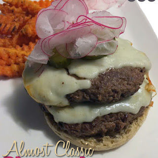 Almost Classic Cheeseburger.