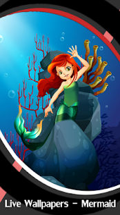 Live Wallpapers – Mermaid - náhled