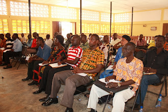 Photo: Some assembly members and participants at the workshop on decentralization at Juaso