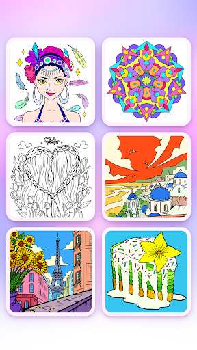 Coloring Fun : Color by Number Games fond d'écran 2