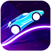 Beat Rider - Neon Rider Game icon