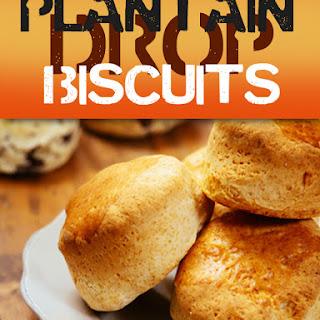 Plantain Drop Biscuits