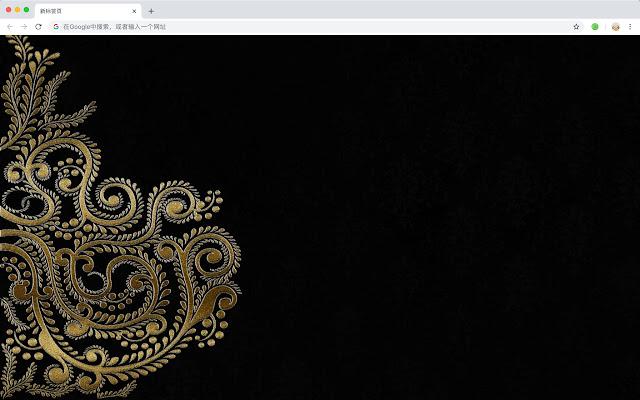 大马士革玫瑰 新标签页 高清壁纸 流行花纹 主题