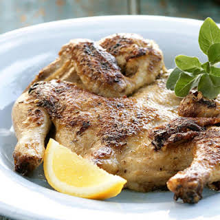 Grilled Butterflied Chicken.