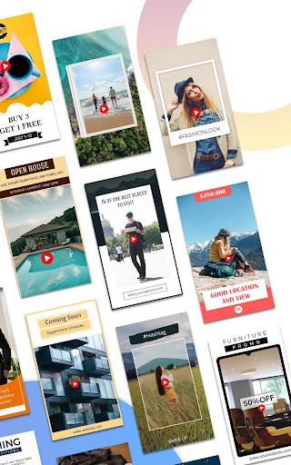 Video Story Maker, Post Maker, Social Video Maker 28.0 screenshots 18