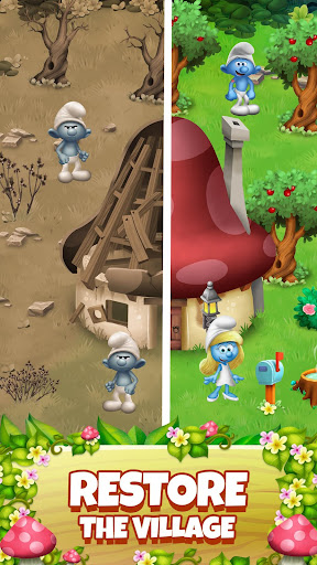 Smurfs Bubble Shooter Story 2.15.050204 screenshots 2