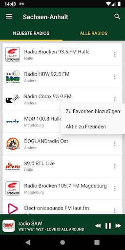 Sachsen-Anhalt Radiosenders - Deutschland screenshots 1