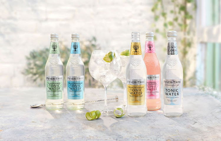 Fever-Tree mixers.
