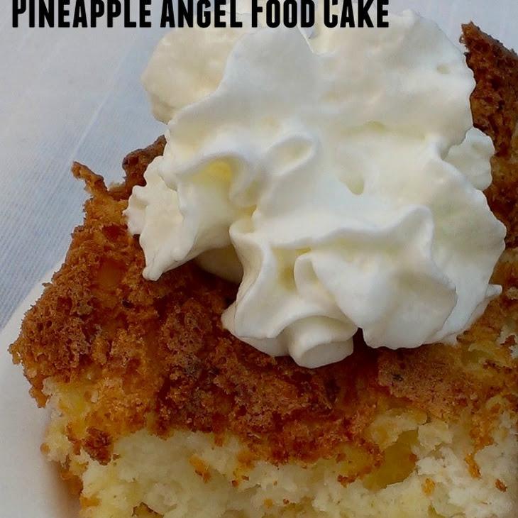 2-Ingredient Weight Watchers Pineapple Angel Food Cake