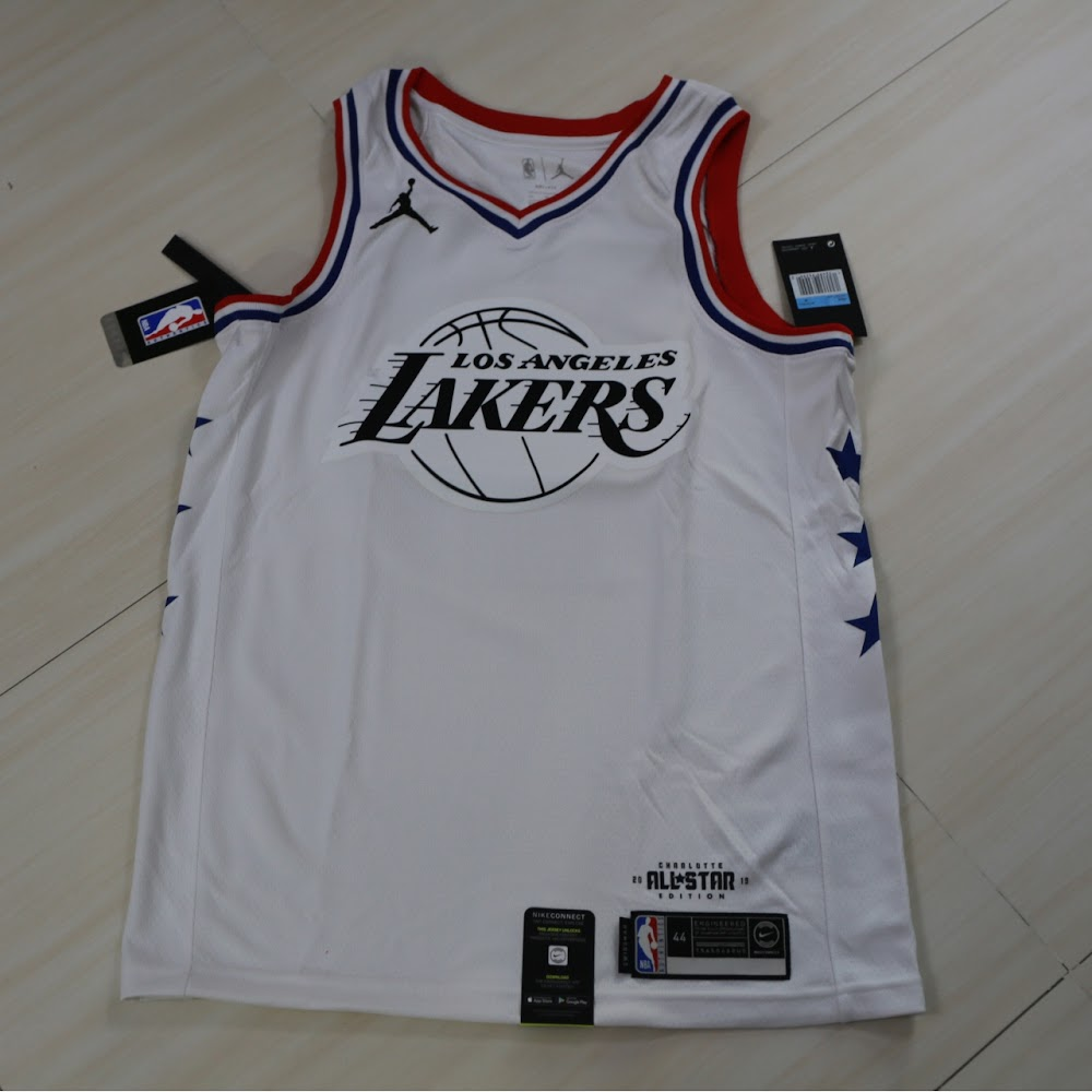 b15706a1b91 Nike 2019 NBA All Star LA Lakers Lebron James Jersey 2019明星賽湖人勒邦占士球衣