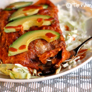 Quick Bean and Cheese Enchiladas Recipe