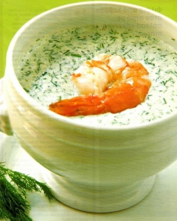 My Chilled Cucumber Soup Recipe