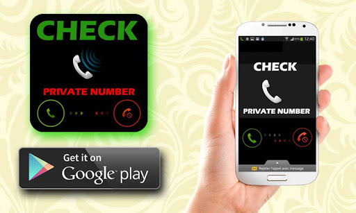Check private number call