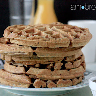 Spiced Brown Butter Waffles Recipe