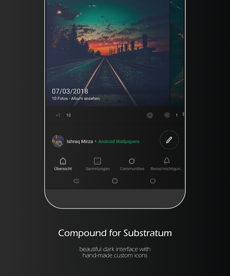 Compound for Substratum (Android Oreo/Nougat)- screenshot