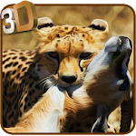 Wild Cheetah Attack Simulator Icon